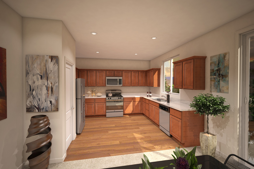 Kitchen - Plan 4 - Heritage