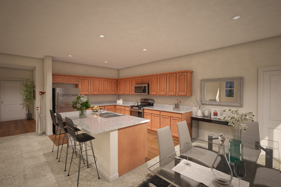 Kitchen - Plan 6 - Legacy